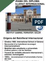 Portes Obertes Batx Internacional - 2018