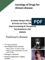 K14 - Pharmacology of Drugs for Parkinson Disease