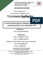 Caracterisation Physico-chimiq