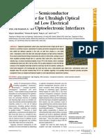 Narasimhan, Vijay K.; Hymel, Thomas M.; Lai, Ruby a.; Cui, Yi -- Hybrid Metal–Semiconductor Nanostructure for Ultrahigh Optical Absorption An