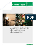 Beamex White Paper - The Benefits of Using Documenting Calibrators FRA