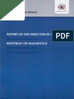 Le rapport de l'audit  2016-2017