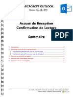 Microsoft Outlook - Accusé de Réception - Confirmation de Lecture