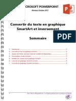 Microsoft PowerPoint - Convertir Du Texte en Graphique SmartArt Et Inversement