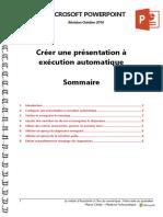 Microsoft PowerPoint - Créer Une Présentation à Exécution Automatique