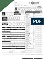 Feuille de Perso D&D3.5