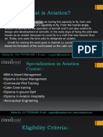 Aviation Courses In Pune