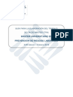 Guia Elaboracion TFM MUPRL18