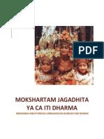 Mokshartam Jagadhita Ya CA Iti Dharma Mengubah Hidup Menuju Kebahagiaan Duniawi Dan Rohani