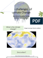 The Challenges of Climate Changes