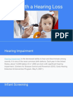 Born With a Hearing Loss