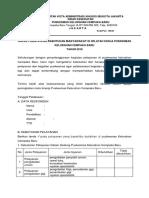 Form Survey Kebutuhan Masyarakat 2018 Isi Cb Jan 2018