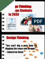 Sebesta Design Thinking Orientation
