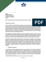 Carta Alcaldes Propuesta Cobro Tasa Pasajeros