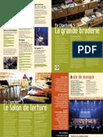Braderie + salon de lecture