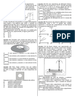 Lista de Exercícios - Dilatação teoria