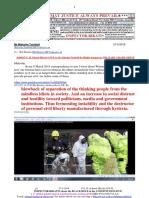20180327-G. H. Schorel-Hlavka O.W.B. to Mr Malcolm Turnbull Re Highly Dangerous MILITARY GRADE NERVE GAS, Etc