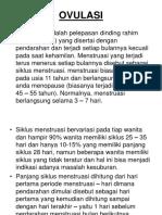 Ovulasi. p.point
