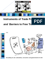Instruments Trade Policy(2)