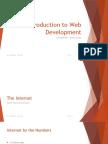 Intro to WebDev