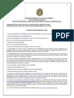Algumas Informações Sobre o Programa de Vernáculas UFRJ