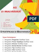 6. Stratifikasi Di Masyarakat