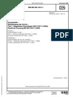 DIN en ISO 3451-1, Incineration, Bestimmung Der Asche - Teil 1 Allgemeine Grundlagen