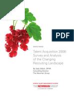 Talent Acquisition 2008
