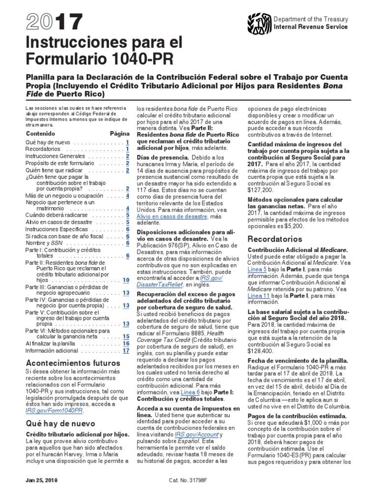 Instrucciones Planilla Irs 2017