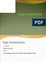 3Type Conversion