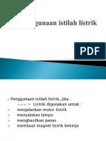 Pendahuluan - Penggunaan istilah listrik.pptx