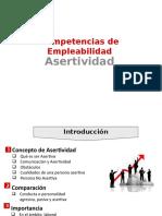 Competencias de Empleabilidad Asertividad