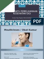 Alat Bantu Pemeliharaan Kesehatan Gigi