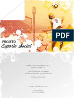 Projeto Esporte Social