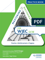Mastering Mathematics WJEC GCSE Practice Book - Higher (Gnv64)