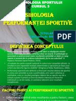 .Psihologia Performanței Sportive