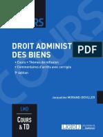 J1L3 (Sujet) - Droit administratif des biens (Cours)
