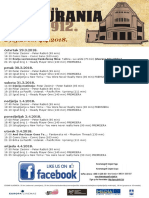 Kino Urania [29.3.-4.4.2018.] [program]