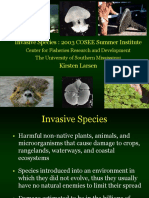 Invasive Species Presentation