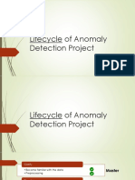 Lifecycle of Anomaly Detection Project