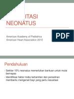 Refreshing Dr Desiana Resusitasi Neonatus
