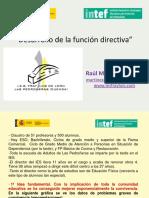 Desarrollo Función Directiva Raul Martínez