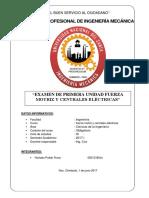 Examen de Centrales Electricas