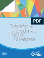 Cuaderno de Nnovacion en La Docencia Universitaria