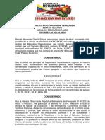 decreto chaguaramas