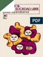 Feyerabend-La Ciencia-Una Sociedad Libre