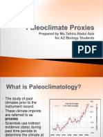 Climate Data and Proxies