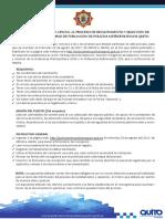 CONVOCATORIA OFICIALinformacionecuador.com