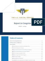 USDS - Report to Congress