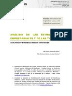 Análisis de Las Estrategias Empresariales y de Las Tic
